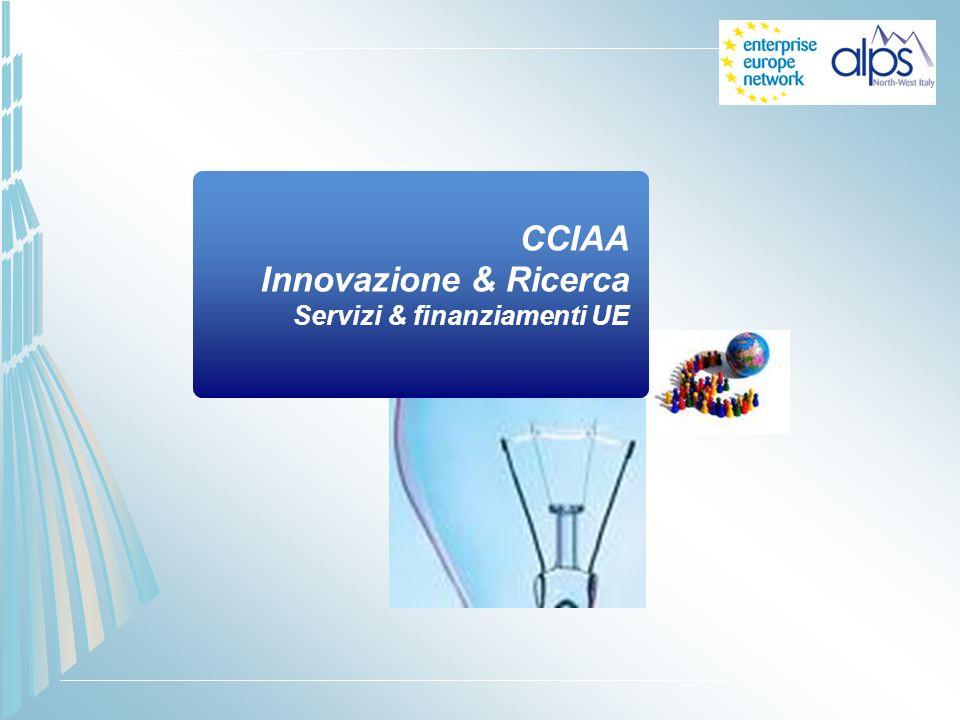 CCIAA Innovazione & Ricerca Servizi & finanziamenti UE