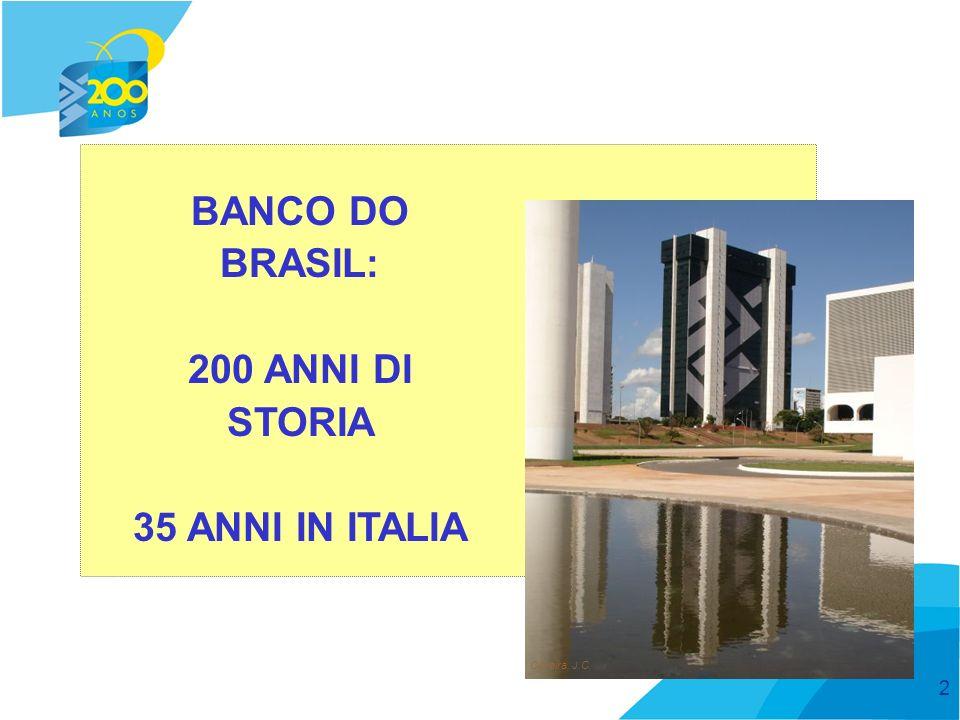 3 Banco do Brasil BANCO DO BRASIL: È stata la Prima banca: ad operare in Brasile a sostenere il commercio estero brasiliano a essere quotata alla borsa brasiliana Anche oggi il BB è pioniere dell´innovazione: nel lanciare le carte multifunzione nel lanciare i servizi di mobile banking nell´offrire la contrattazione di cambio al 100% online