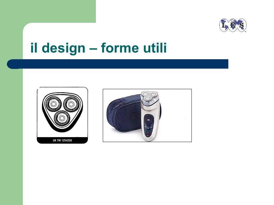 il design – forme utili