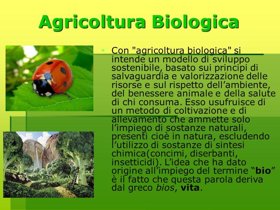 Agricoltura Biologica Con