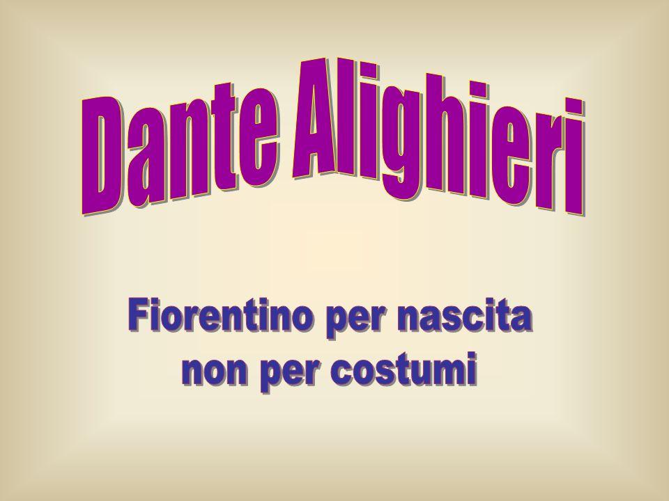 IL FINE DELLOPERA Nel primo libro, Dante spiegando il titolo espone i fini dellopera.