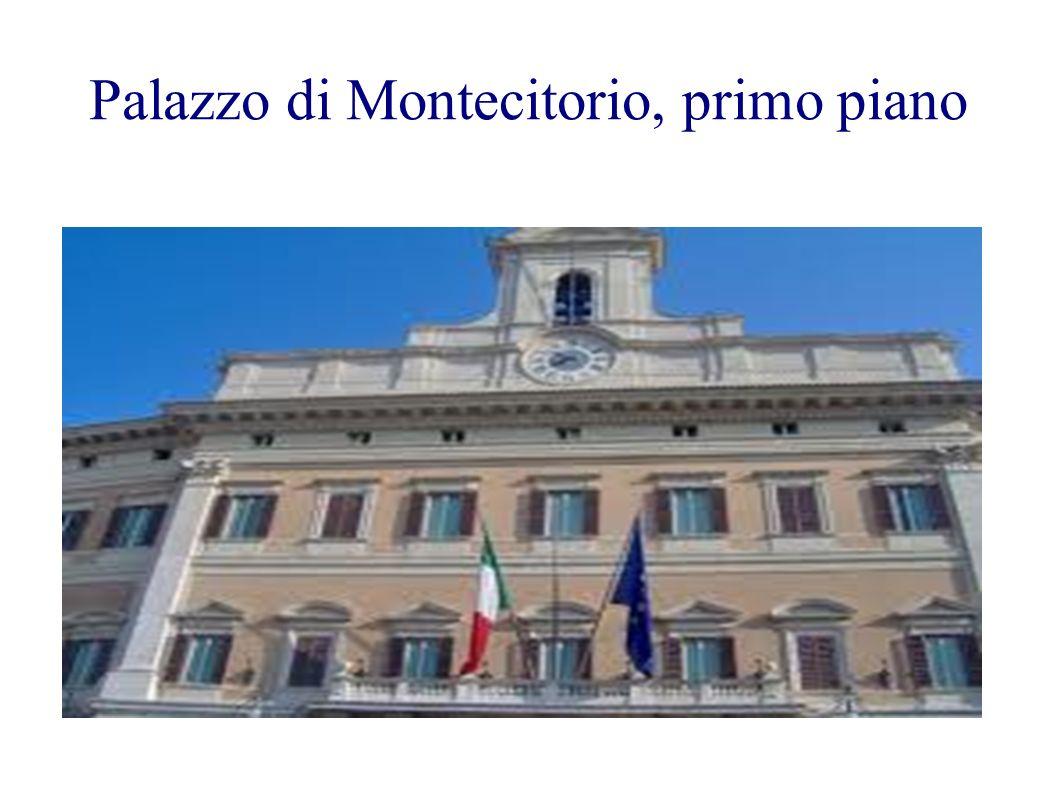 Palazzo di Montecitorio, primo piano
