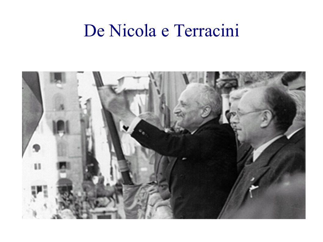 De Nicola e Terracini