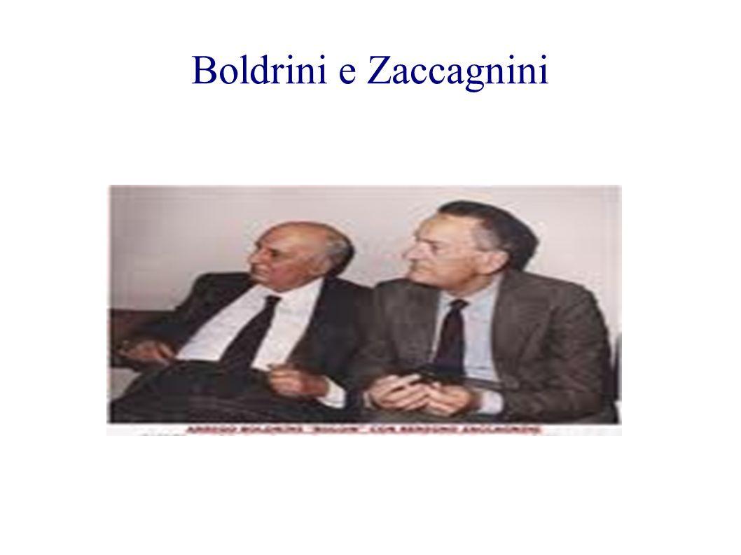 Boldrini e Zaccagnini