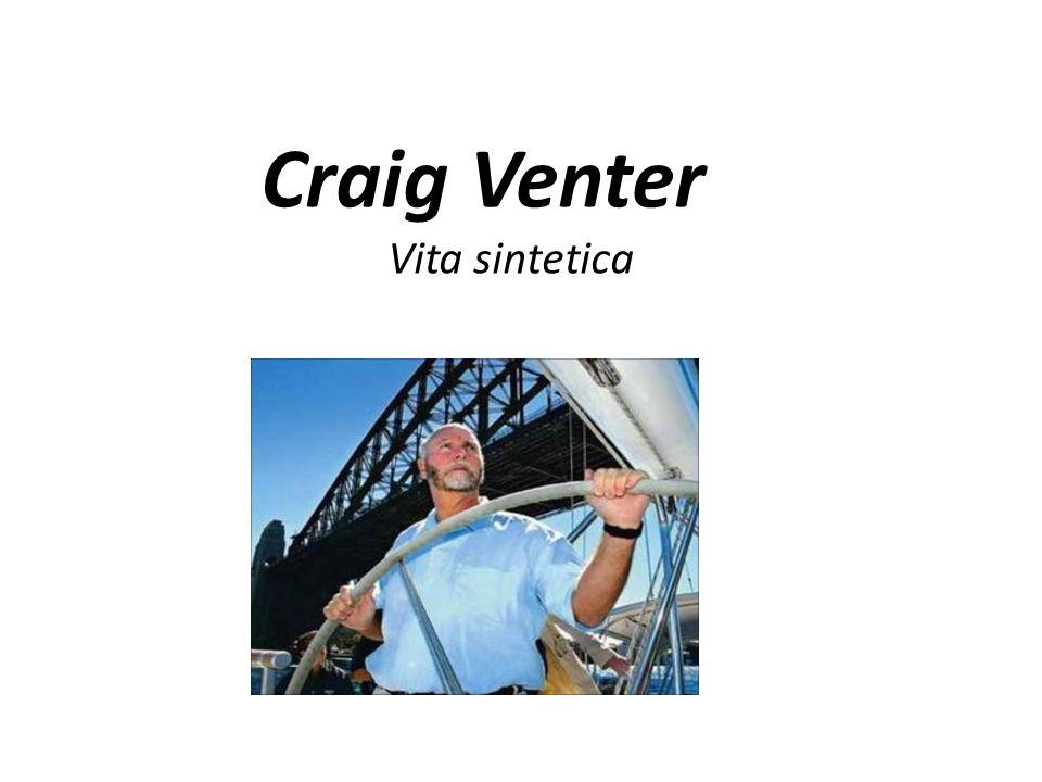Craig Venter Vita sintetica
