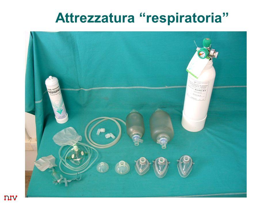3 Attrezzatura respiratoria