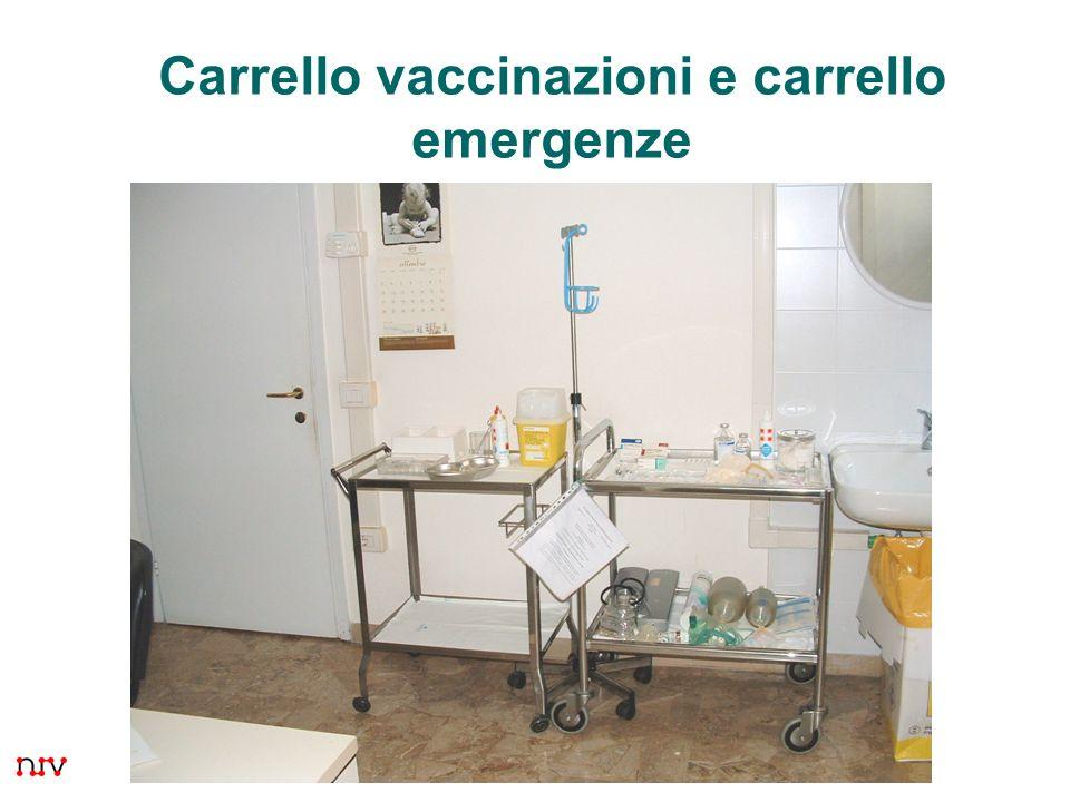 8 Carrello vaccinazioni e carrello emergenze