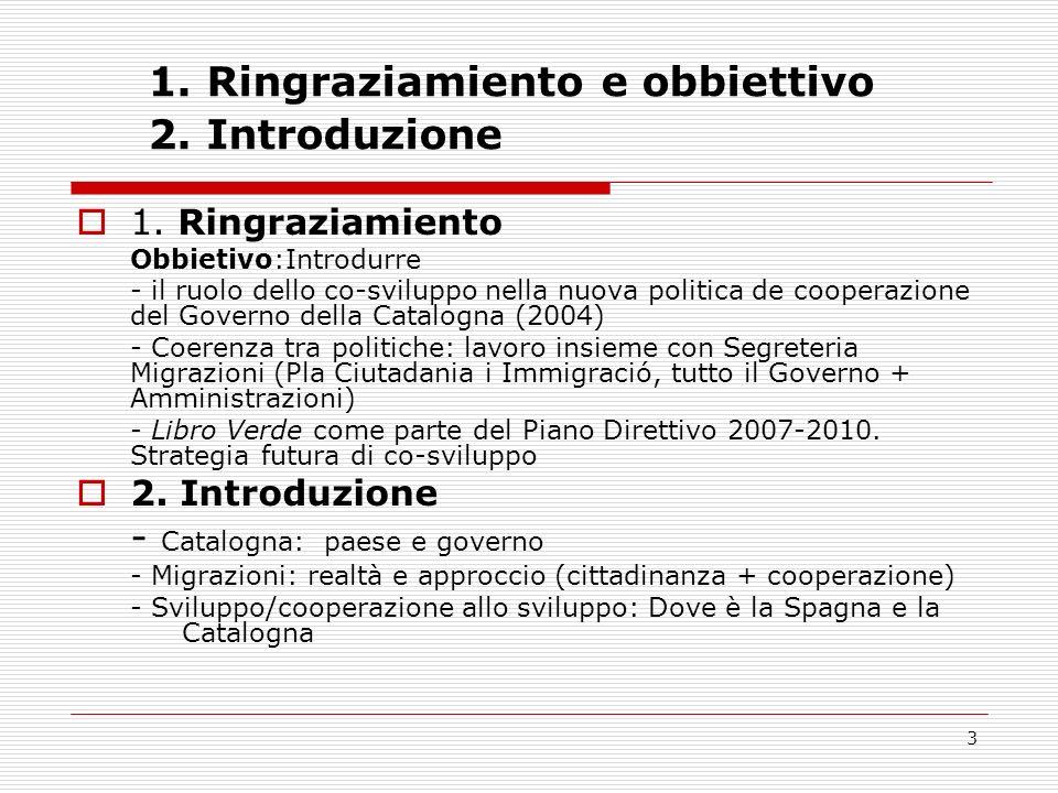3 1. Ringraziamiento e obbiettivo 2. Introduzione 1.