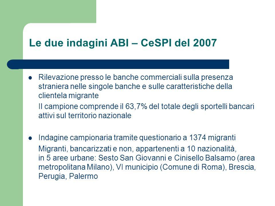 Volume delle rimesse in Italia 200420052006 Rimesse in migliaia di euro 2.706.106 3.900.7934.354.555 Var.