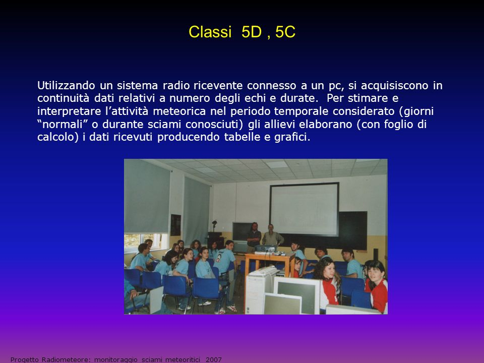 Osservatorio Radio-meteorico del Liceo Scientifico: configurazione attuale ANT.