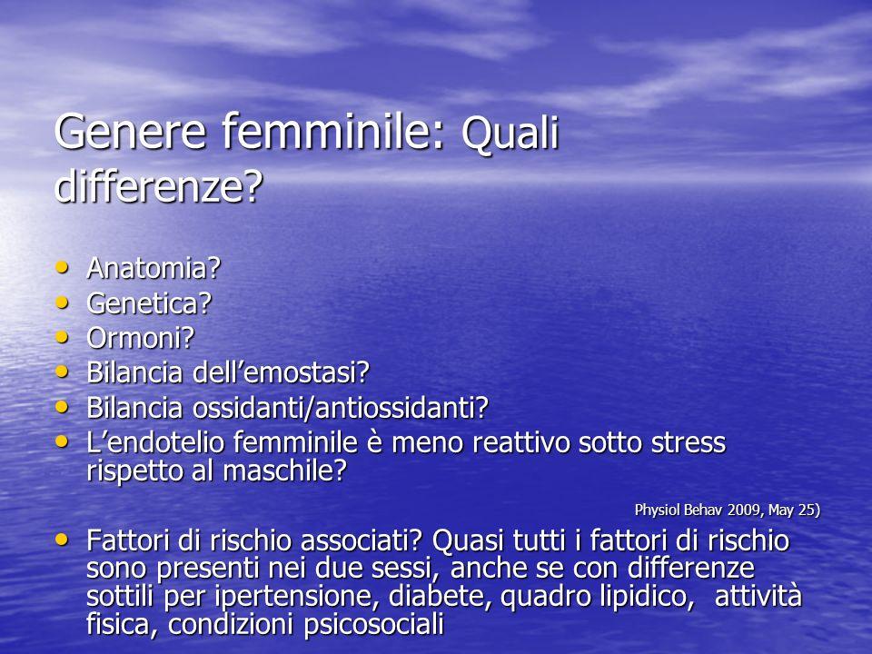 Genere femminile: Quali differenze.Anatomia. Anatomia.