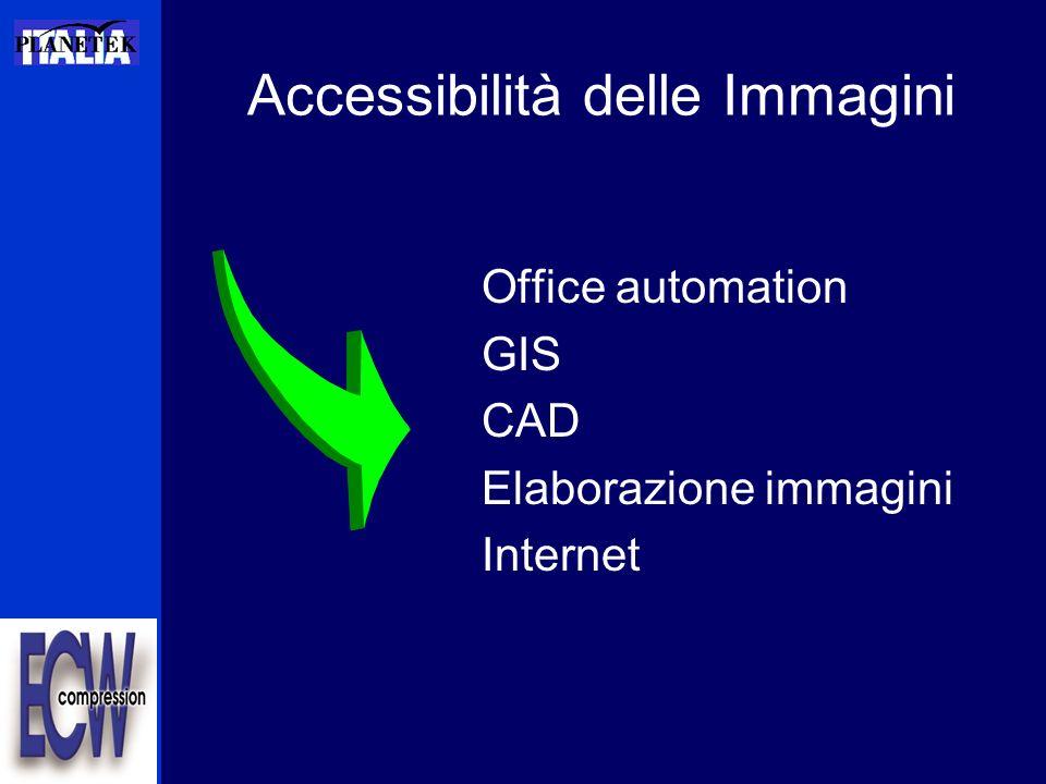 Accessibilità delle Immagini Office automation GIS CAD Elaborazione immagini Internet