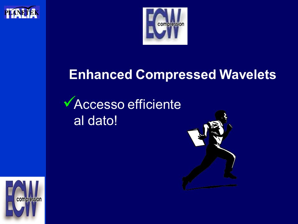 Enhanced Compressed Wavelets Accesso efficiente al dato!