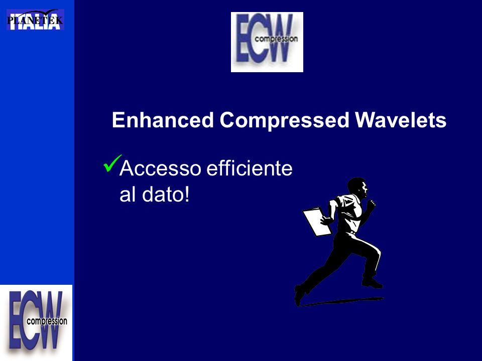 Accesso al Server I Client CAD –AutoCAD and AutoCAD Map Personalizzati –VB/Java ATL, ActiveX –Viewing/Decompression SDK –Compression SDK Image processing e fotogrammetria –ER Mapper –PCI, ENCOM,GDS, VirtuoZo, etc
