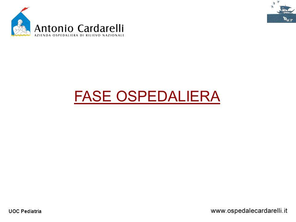UOC Pediatria FASE OSPEDALIERA