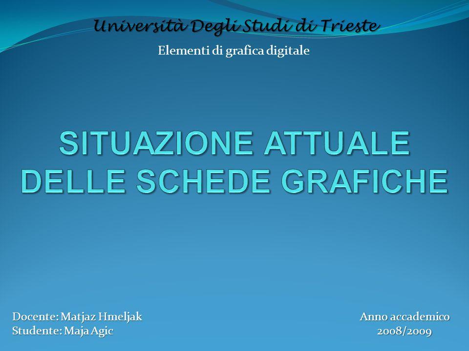 Elementi di grafica digitale Università Degli Studi di Trieste Docente: Matjaz Hmeljak Studente: Maja Agic Anno accademico 2008/2009