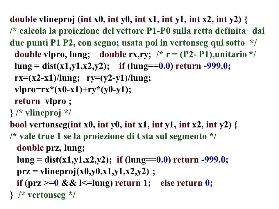 double vlineproj (int x0, int y0, int x1, int y1, int x2, int y2) { /* calcola la proiezione del vettore P1-P0 sulla retta definita dai due punti P1 P