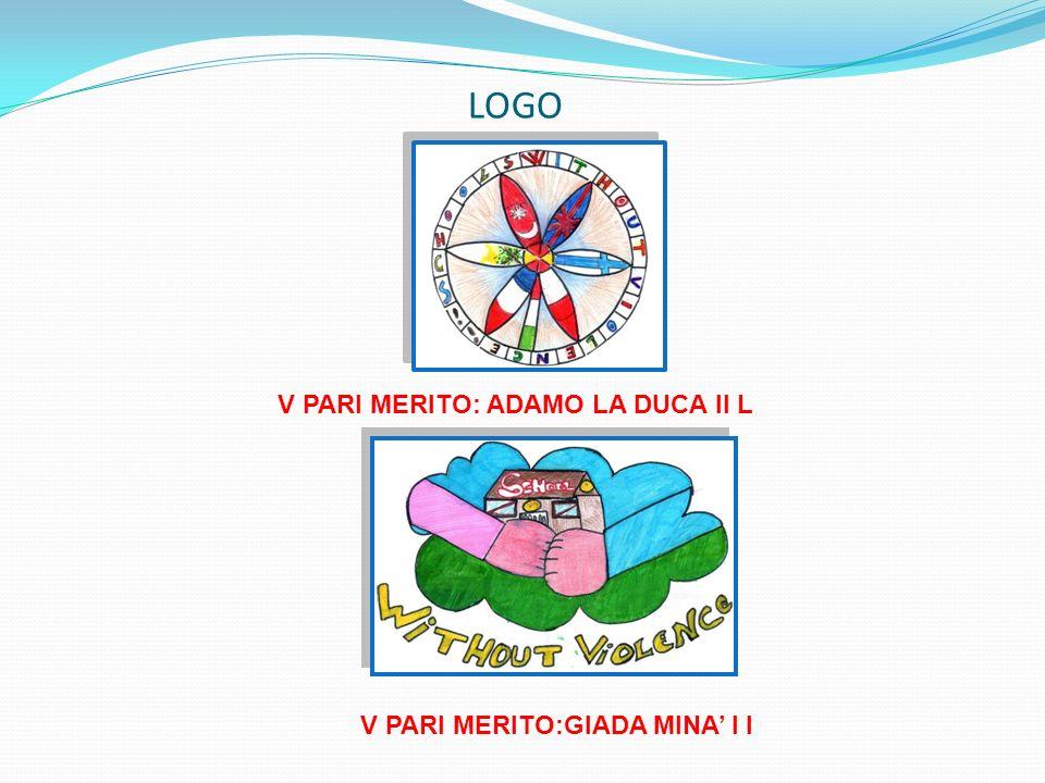 LOGO V PARI MERITO: ADAMO LA DUCA II L V PARI MERITO:GIADA MINA I I