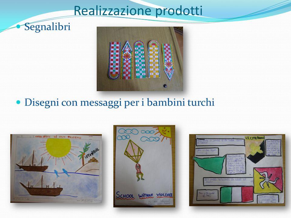Segnalibri Disegni con messaggi per i bambini turchi Realizzazione prodotti