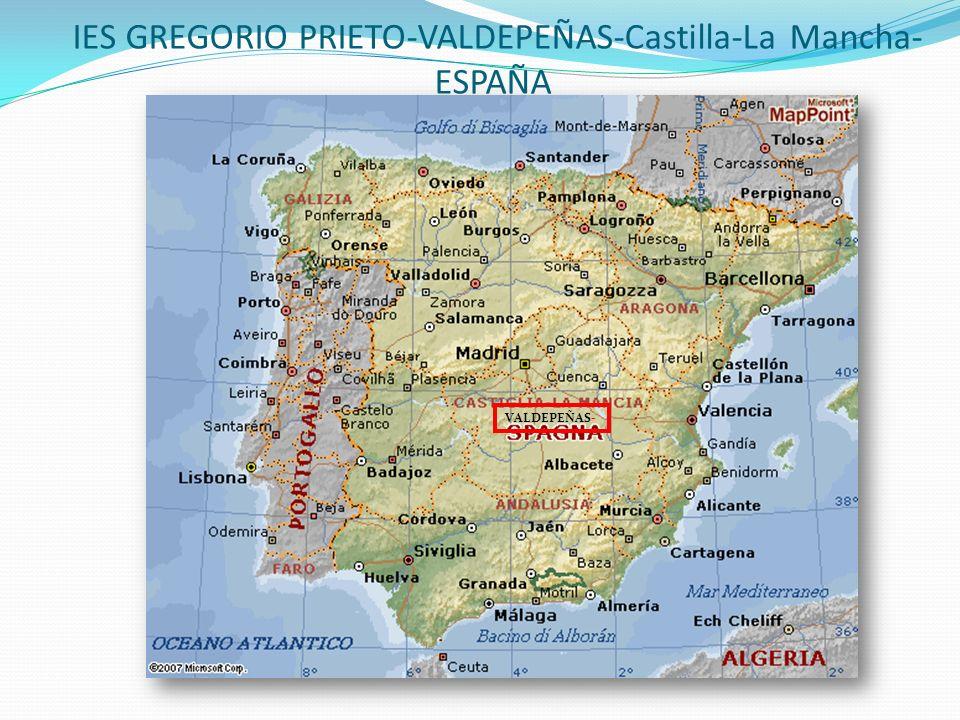 IES GREGORIO PRIETO-VALDEPEÑAS-Castilla-La Mancha- ESPAÑA VALDEPEÑAS-