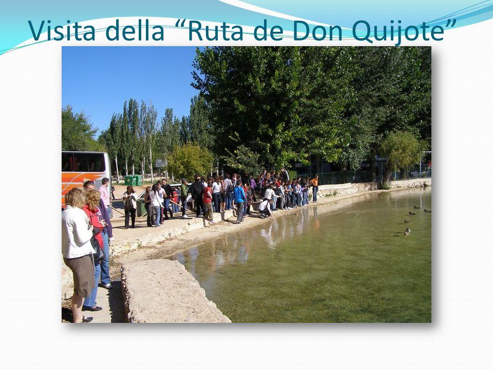Visita della Ruta de Don Quijote