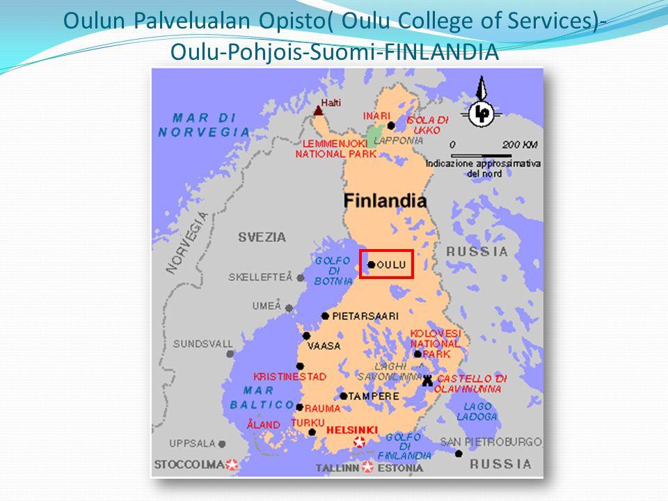 Oulun Palvelualan Opisto( Oulu College of Services)- Oulu-Pohjois-Suomi-FINLANDIA