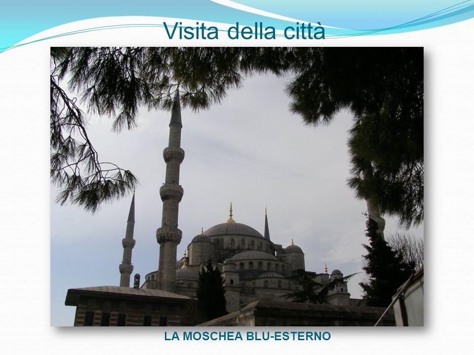 Visita della città LA MOSCHEA BLU-ESTERNO