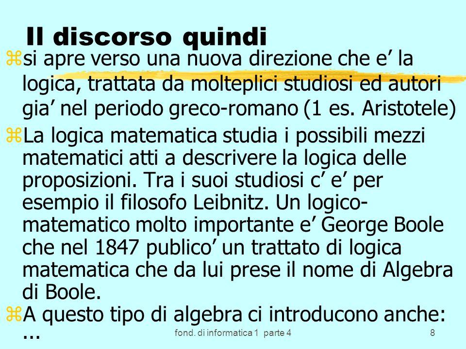 fond.di informatica 1 parte 479 SORT & Algoritmo di Scelta diretta.