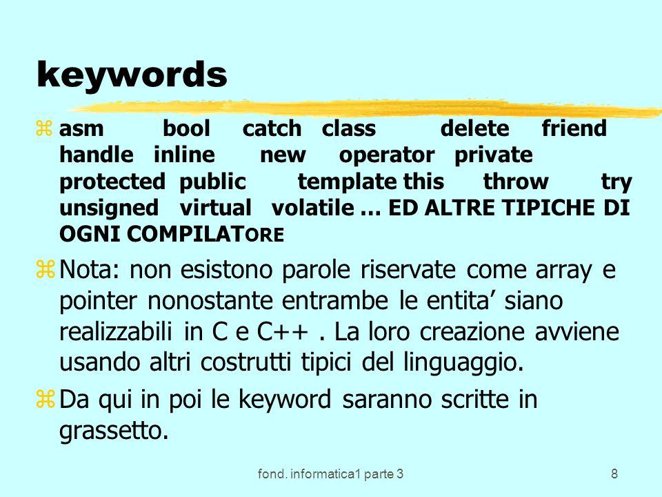 fond.informatica1 parte 339 Ripensando al ciclo del DOS...
