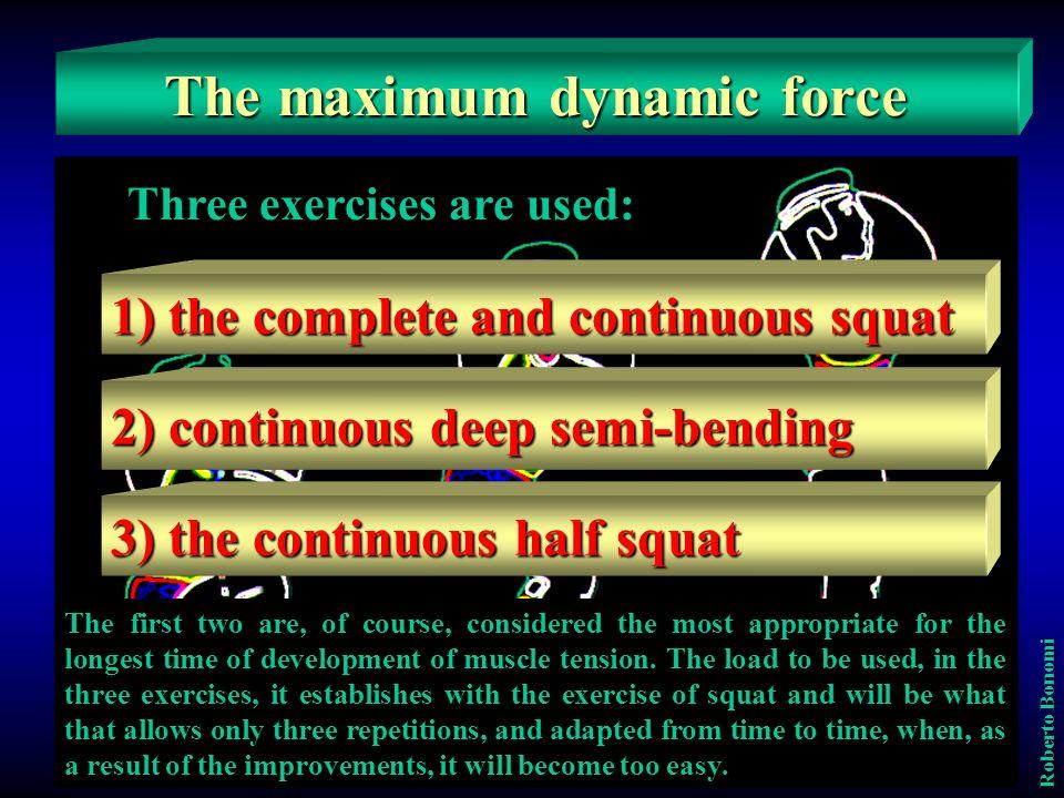 Come si determinano i carichi appropriati In riferimento al metodo in oggetto, il carico, come in precedenza detto, è definito dallesercitazione di squat completo.