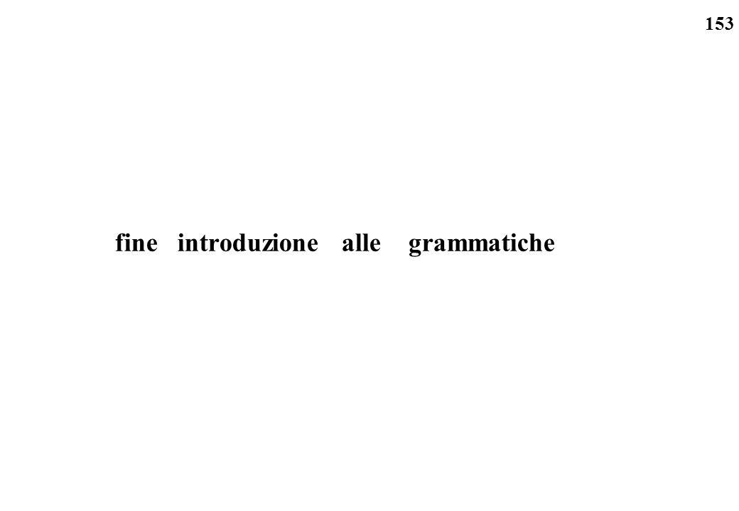153 fine introduzione alle grammatiche
