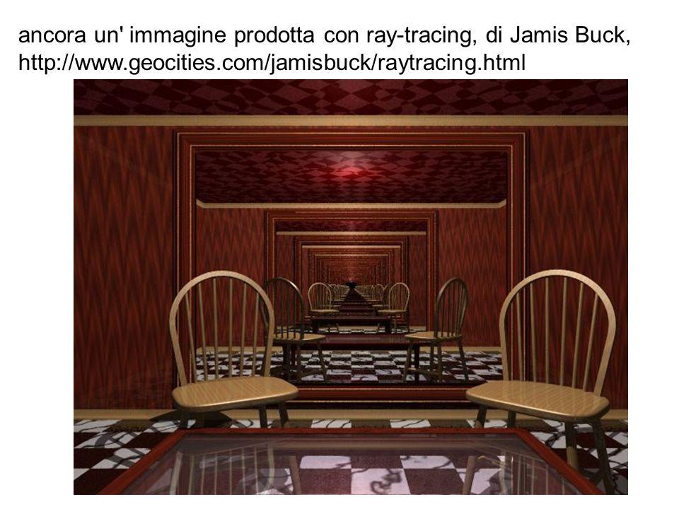 ancora un' immagine prodotta con ray-tracing, di Jamis Buck, http://www.geocities.com/jamisbuck/raytracing.html