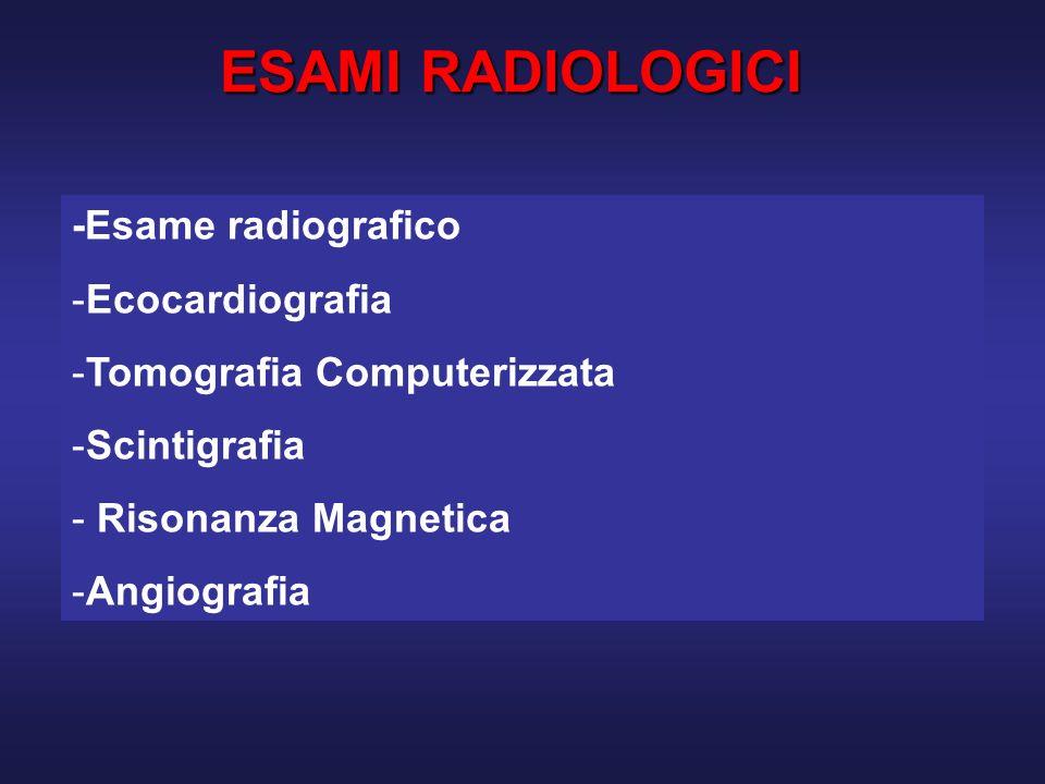 MEDICINA NUCLEARE Scintigrafia (planari e SPECT) con Tallio - 201 e tecneziati (Tc-99-MIBI, tetrafosmina): studi di perfusione miocardica in condizioni basali, stress fisico e farmacologicoScintigrafia (planari e SPECT) con Tallio - 201 e tecneziati (Tc-99-MIBI, tetrafosmina): studi di perfusione miocardica in condizioni basali, stress fisico e farmacologico PET: studi di perfusione (13N- NH 3 ) e metabolismo 18F-FDG (miocardio vitale)PET: studi di perfusione (13N- NH 3 ) e metabolismo 18F-FDG (miocardio vitale)