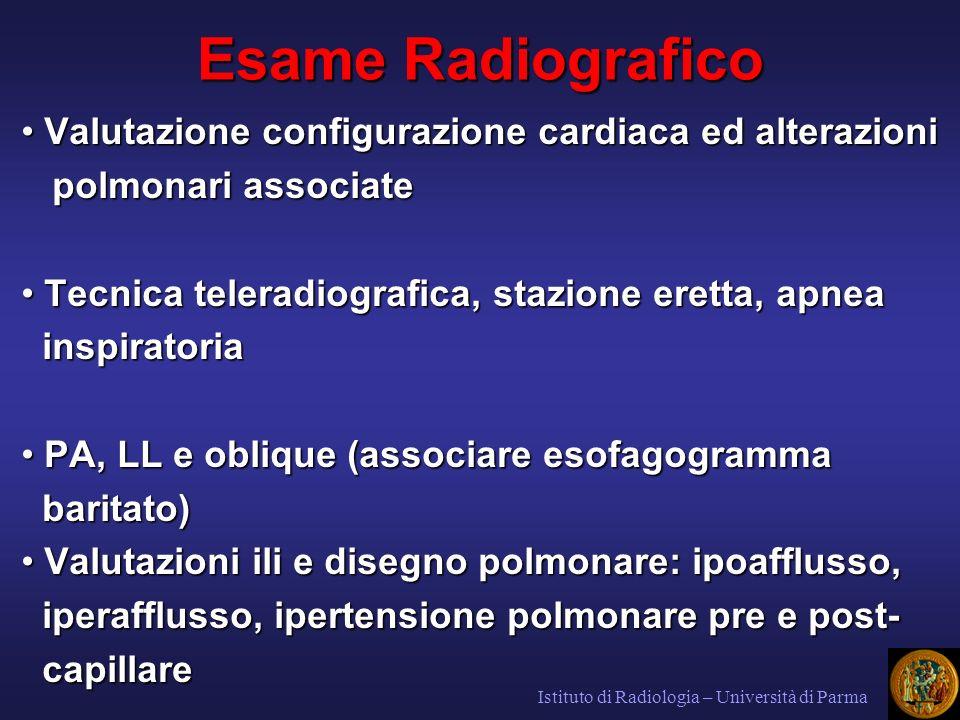 AS AD VD VS Proiezione delle cavità cardiache nel telecuore