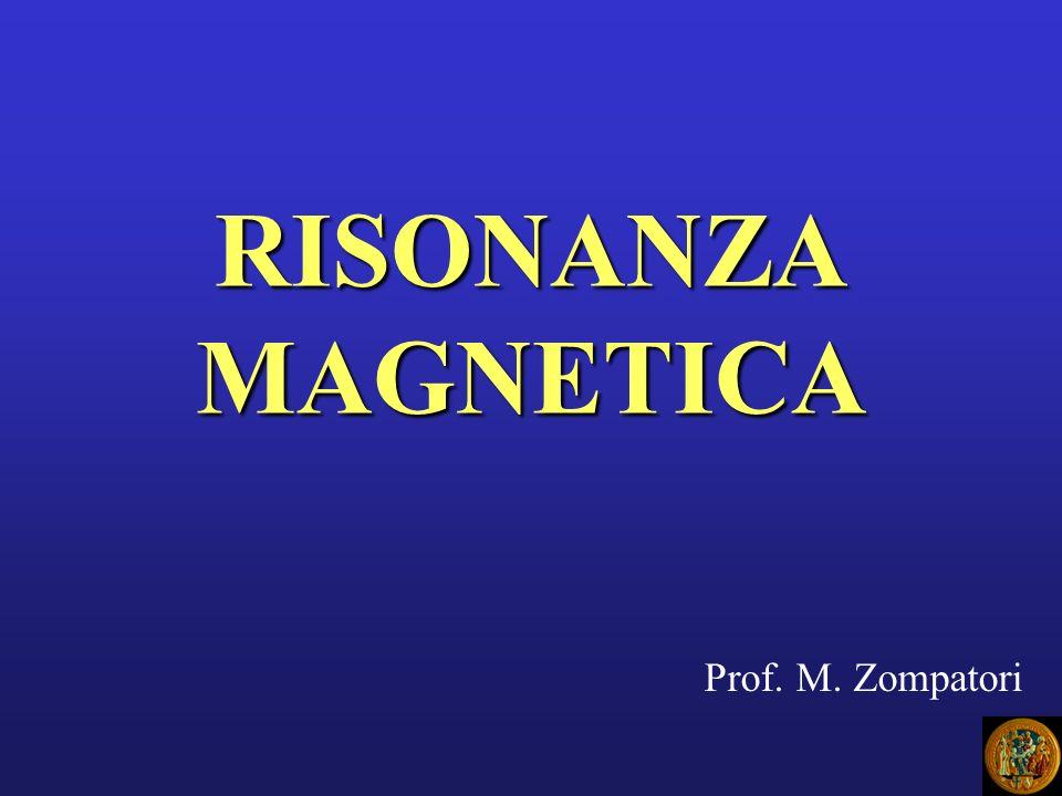 RISONANZA MAGNETICA Prof. M. Zompatori