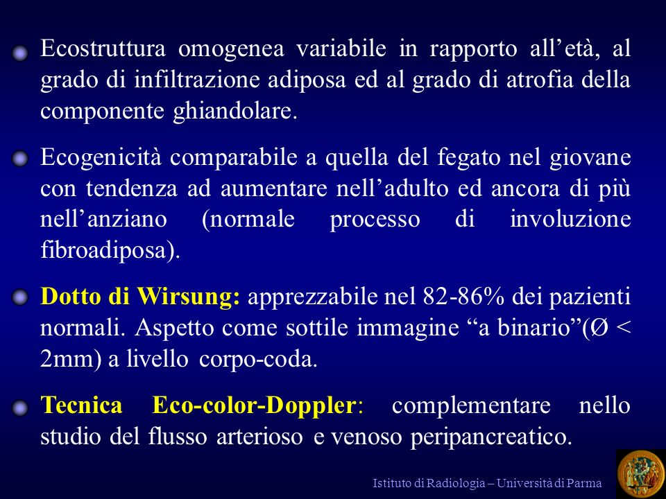Istituto di Radiologia – Università di Parma NEOPLASIE BENIGNE 1.
