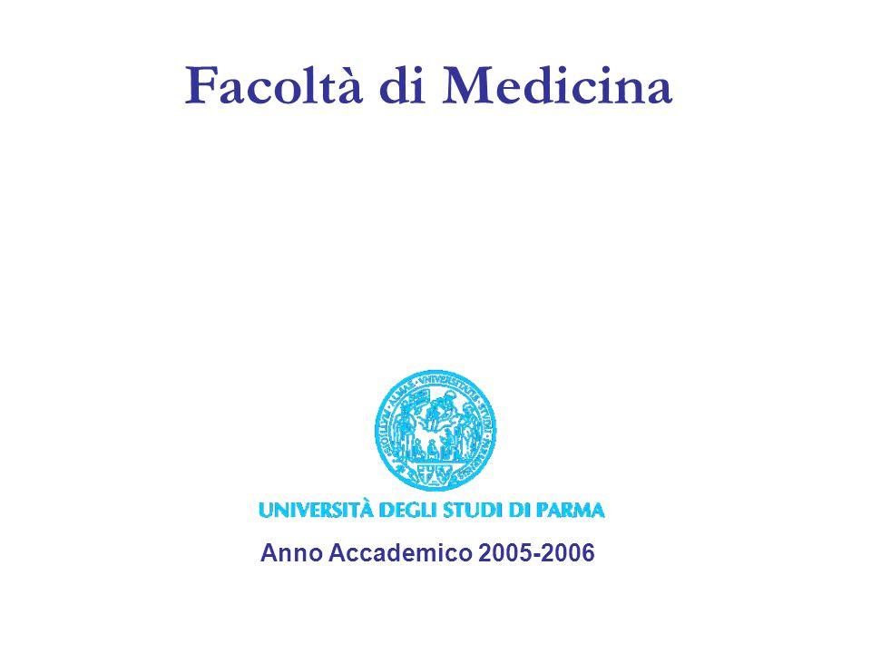 Facoltà di Medicina Anno Accademico 2005-2006