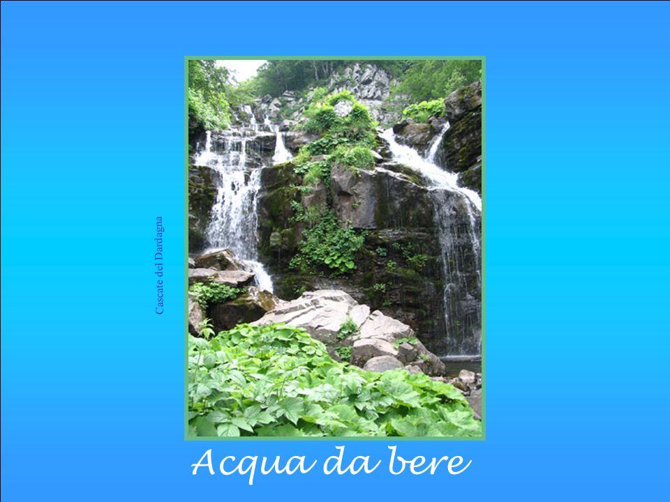 Qualità dellacqua Lacqua da potabilizzare viene attinta principalmente da: Corsi dacqua ( fiumi) Bacini ( laghi) Falde acquifere
