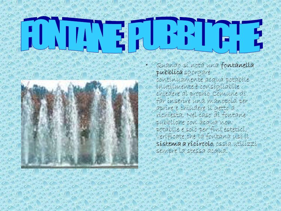 L'uso dei miscelatori d'aria nei rubinetti e nelle docce riduce il consumo d'acqua senza modificare le proprie abitudini. Si tratta di una piccola agg