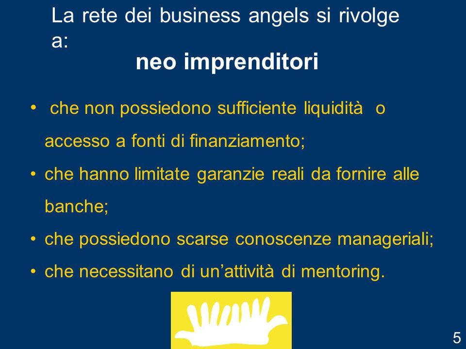 business angels o anche detti investitori privati informali.