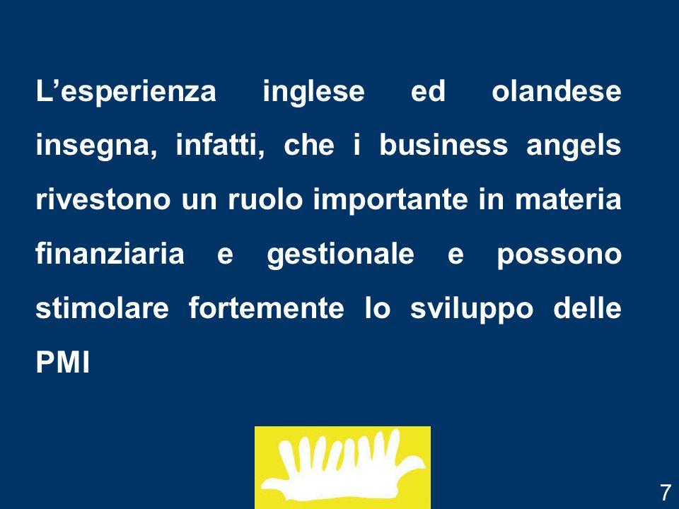 Nel contesto italiano possono essere individuate due categorie di soggetti che possiedono le caratteristiche per essere potenziali business angels: Chi sono i Business Angels.