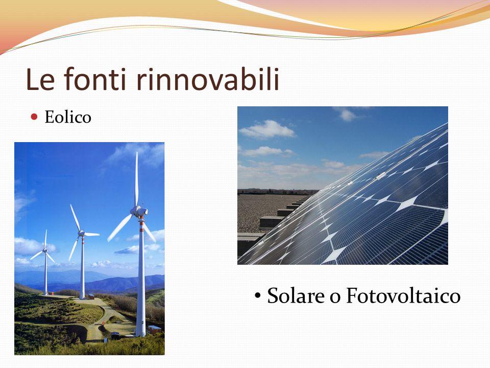 Le fonti di energia si dividono in FONTI PRIMARIE: quelle esistenti in natura da cui si parte per ricavare le forme di energia, che si dividono in: ES
