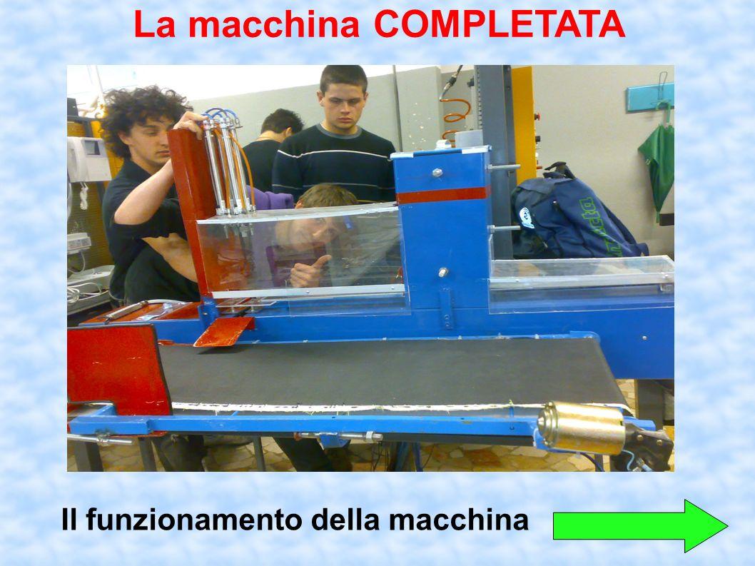 Il funzionamento della macchina La macchina COMPLETATA