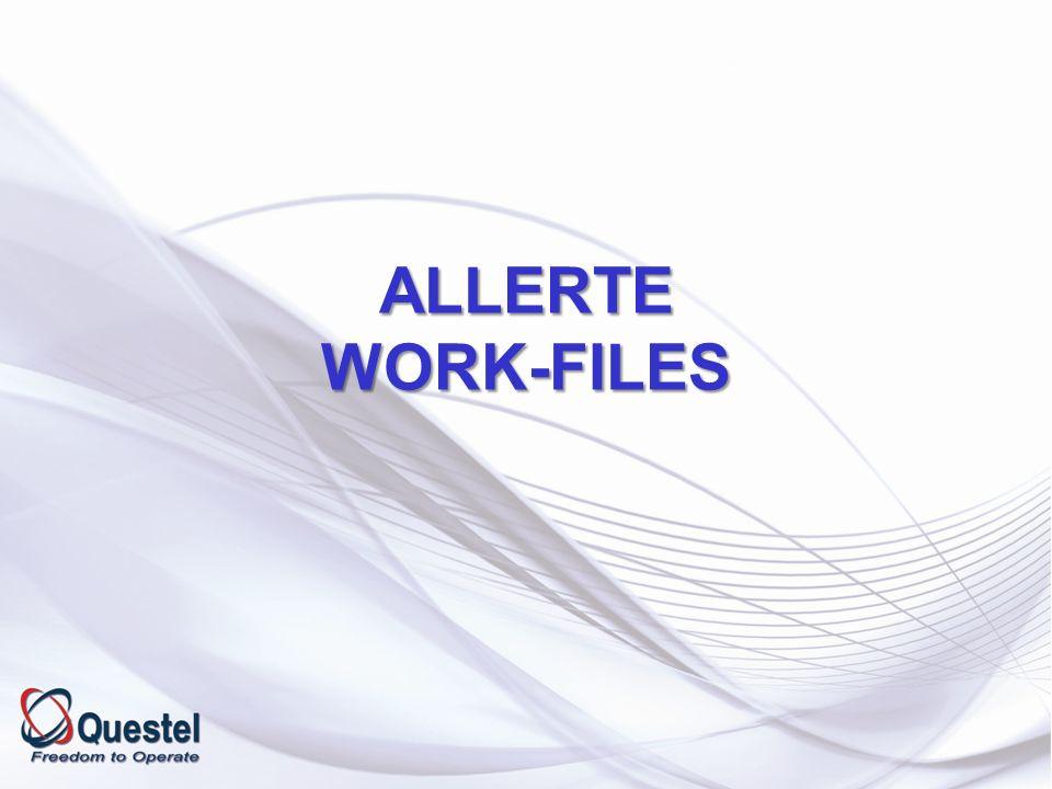 ALLERTE WORK-FILES