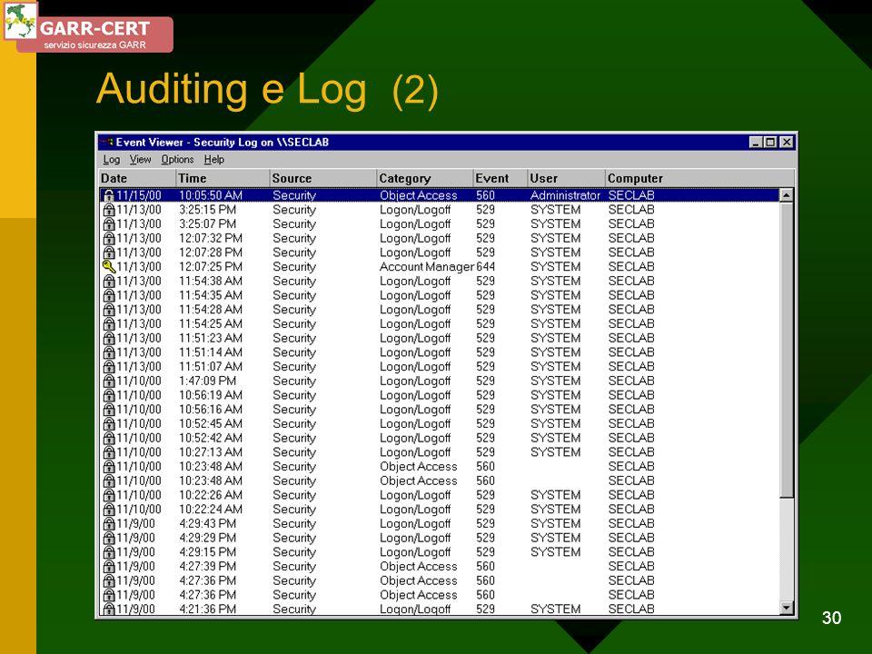 30 Auditing e Log (2)