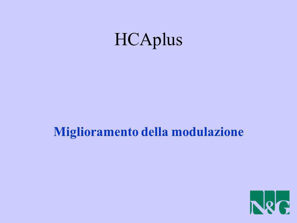 HCAplus Miglioramento della modulazione