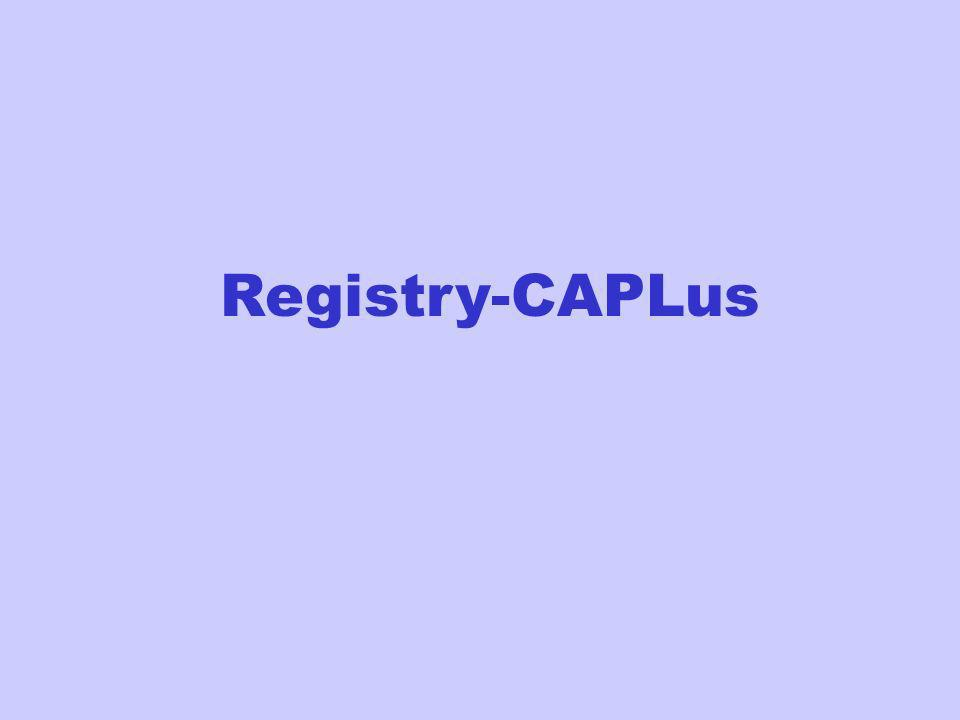 Registry-CAPLus