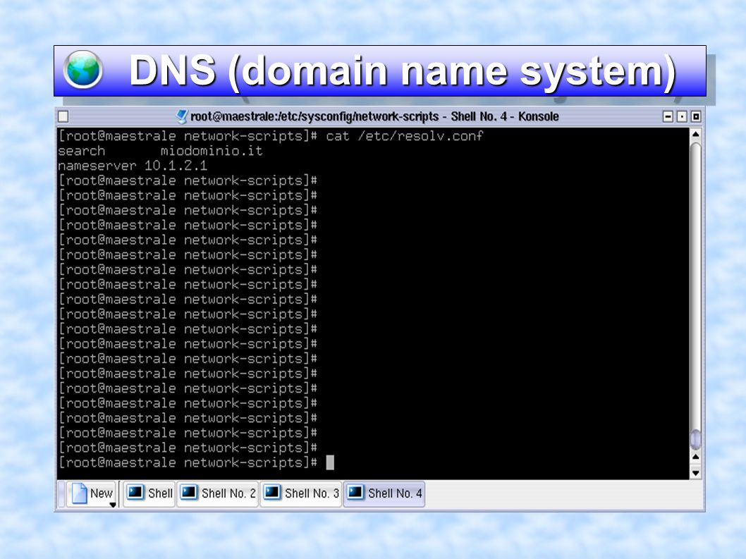 DNS (domain name system) DNS (domain name system)