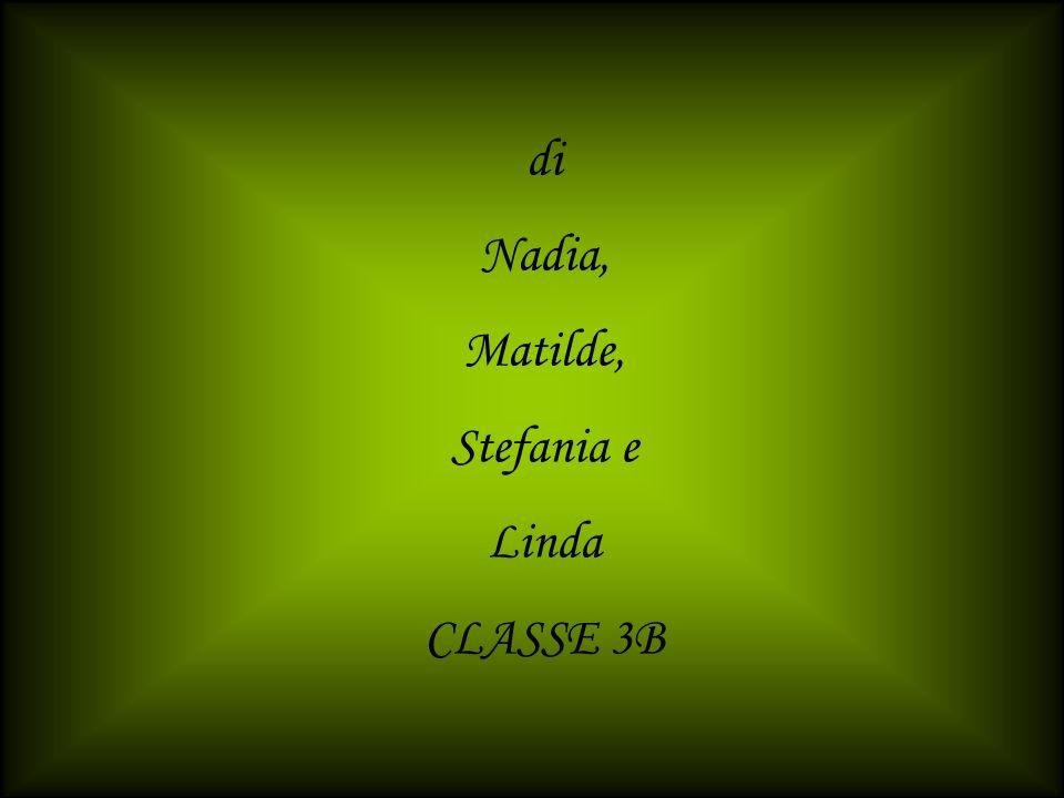 di Nadia, Matilde, Stefania e Linda CLASSE 3B