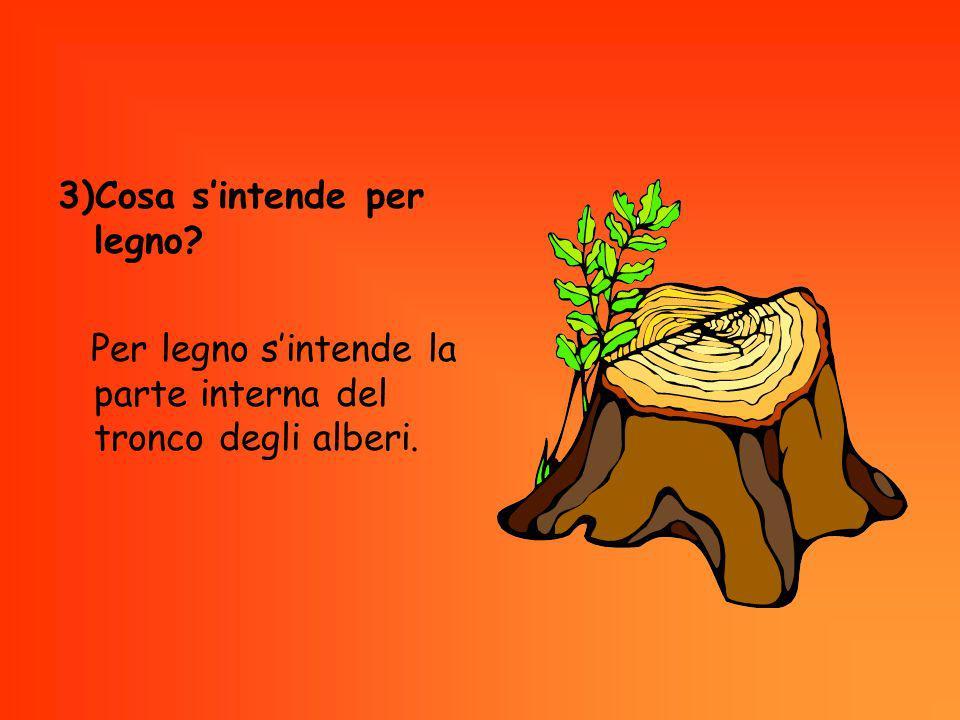 Le proprietà 4)Quali sono le proprietà fisiche del legno.
